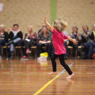 Foreningsarbejde - Gymnastikopvisning