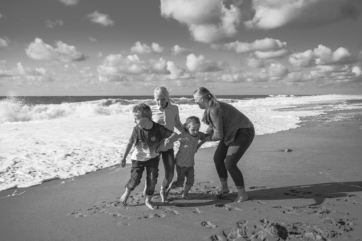 Portrætfotografering ved vesterhavet i Thy