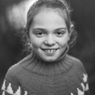 Portrætfotografering af Johanne