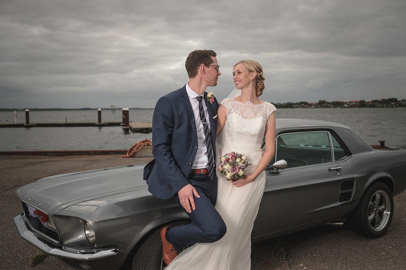 Bryllup Martin og Jennie, Thisted kirke og Vildsundbroen