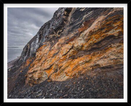 Hanklit med orange farver på Mors